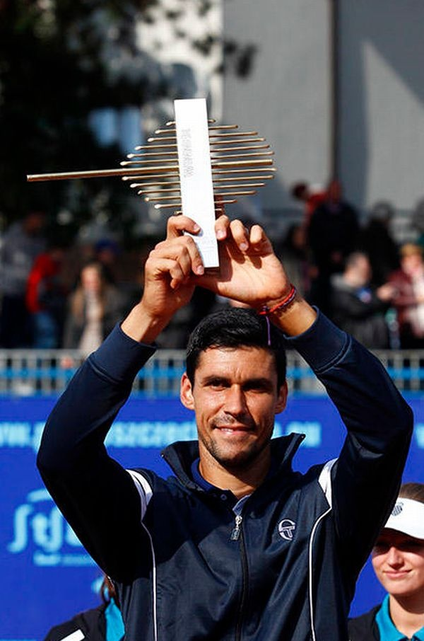 Victor Hanescu with Szczecin Trophy