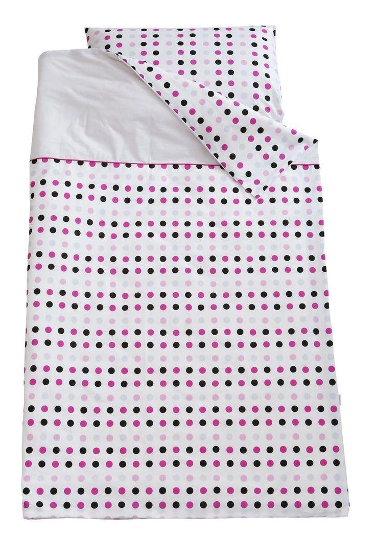 Kup Teraz: Motherhood, Pościel niemowlęca, 2-elementowa, różowo-czarne kropki - Motherhood, tylko 38,99 zł w Smyk.com. Darmowy odbiór w salonach empik, sprawdź!