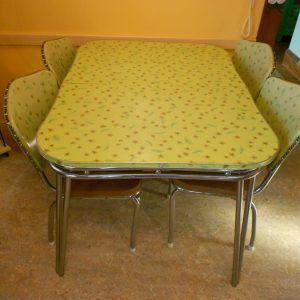 1950S Kitchen Table Formica