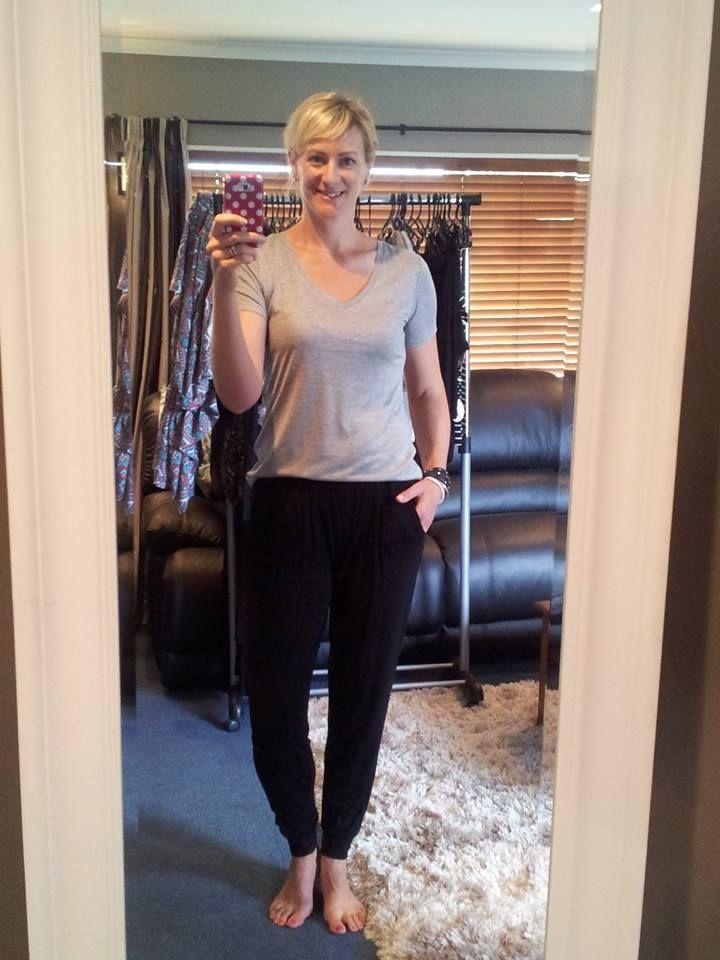 Betty Basics Paris Pant $39.90  and Manhattan Tee $29.90 (grey white or black)