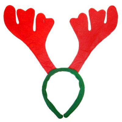 Reindeer Antler Headbands | Christmas Reindeer Headbands | Blue Frog Toys