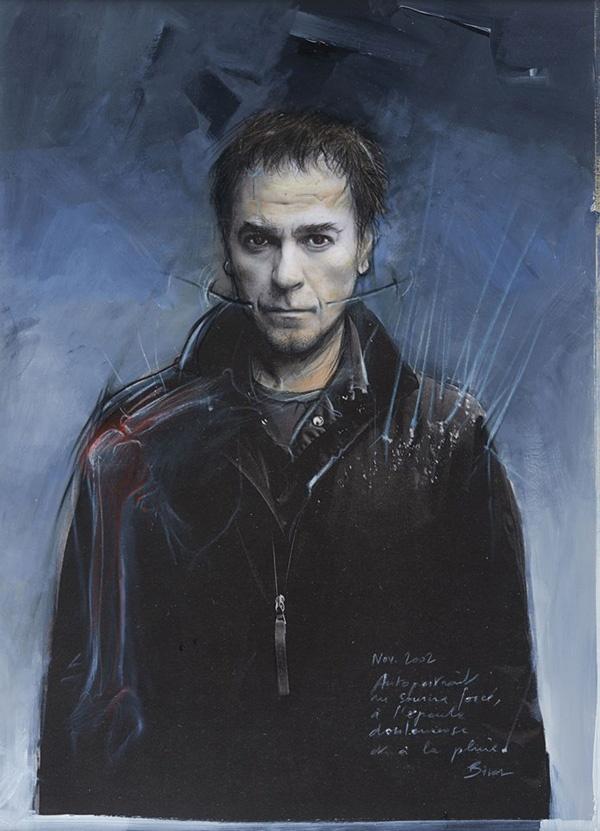 Autoportrait Enki Bilal Mecanhumanimal-2