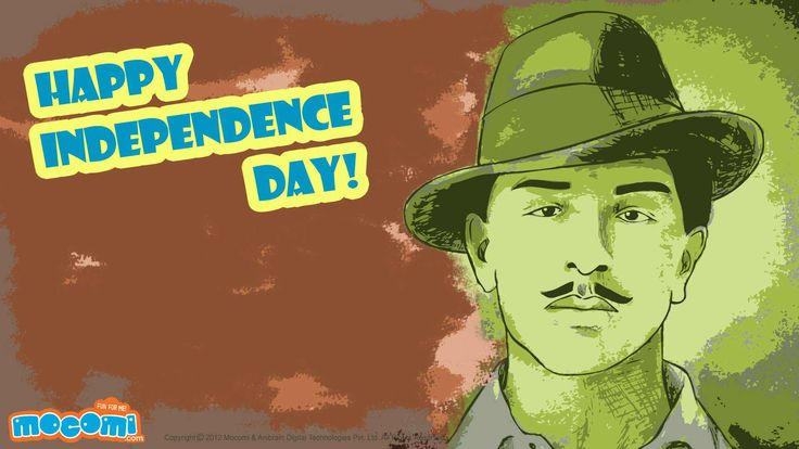 Bhagat Singh – Download this #BhagatSingh #wallpaper for kids, absolutely free. Also browse through our collection of other wallpapers set across a variety of themes. For more cool #wallpaperforkids, visit http://mocomi.com/fun/wallpapers/festival/