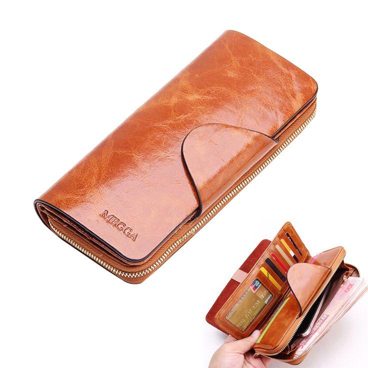 $59.96 (Buy here: https://alitems.com/g/1e8d114494ebda23ff8b16525dc3e8/?i=5&ulp=https%3A%2F%2Fwww.aliexpress.com%2Fitem%2F2016-Hot-Sales-First-Layer-Of-Cowhide-Female-Wallets-Zipper-Genuine-Leather-Long-Design-Men-Women%2F32670281220.html ) 2016 Hot Sales First Layer Of Cowhide Female Wallets Zipper Genuine Leather Long Design Men/Women Wallets carteira feminina for just $59.96