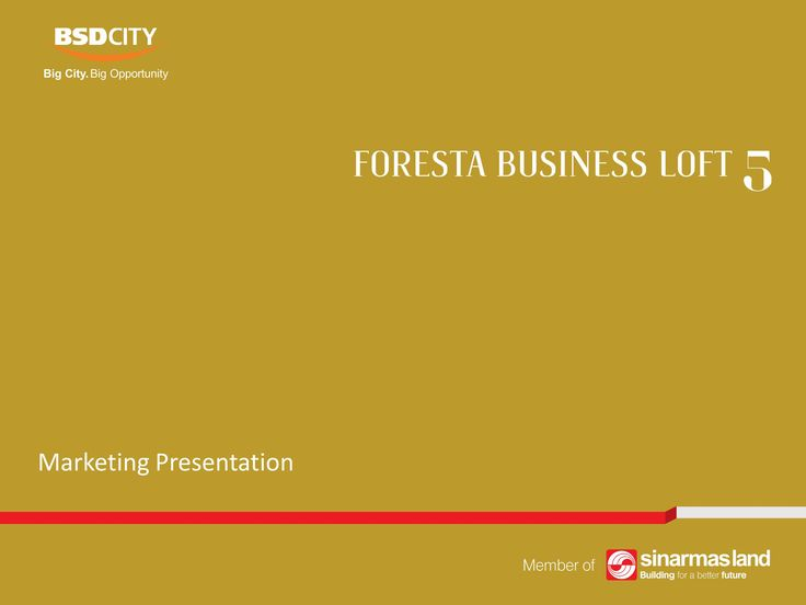 Foresta Business Loft 5 BSD City e-Brochure