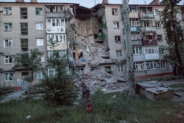 Imágenes impactantes: Rastro de destrucción dejado por los ataques del Ejército ucraniano – RT