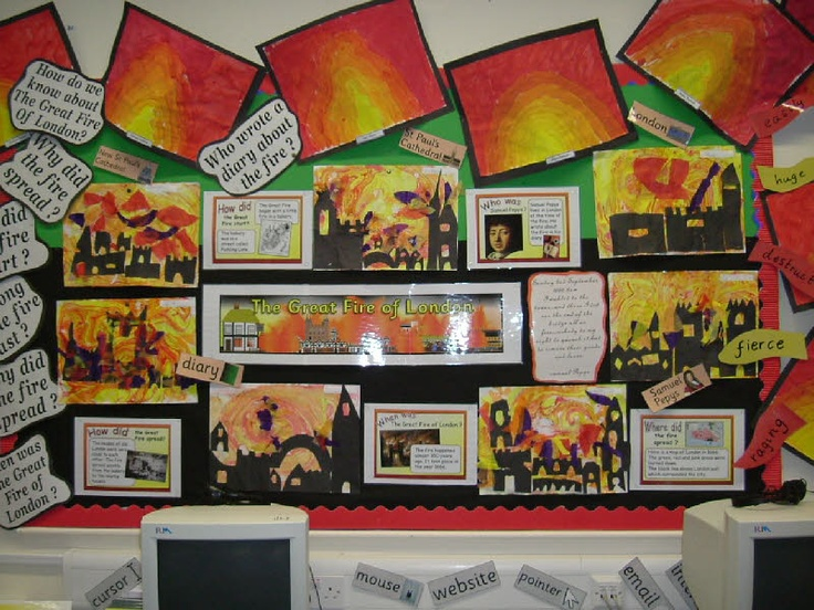 The Great Fire of London from Nicola Coates