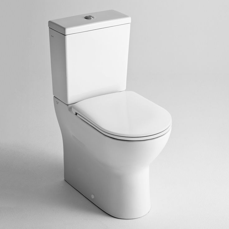 Vitra S-Line S70 Alto Rear Inlet Toilet Suite with Pila Slim Seat  - Rogerseller