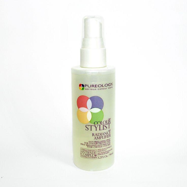 Pureology Colour Stylist Radiance Amplifier Anti-Frizz Shine Spray