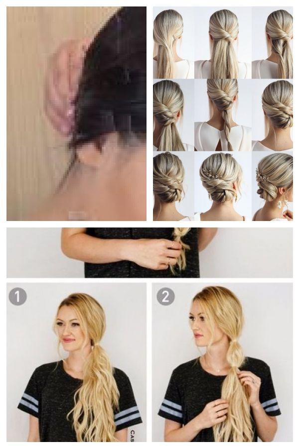 Einfache Frisuren Keine Hitze Haar Heizen Hetero Wie Man Glattes Haar Ohne Einfache Bekommt Einfachefrisuren Easyhairst Hair Styles Hair Beauty