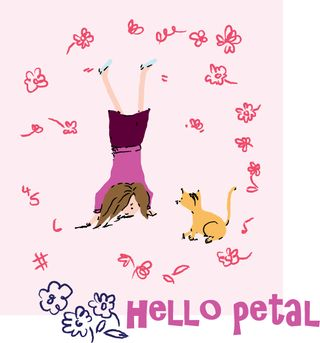 Hello Petal - Aneela Hoey's newest line for Moda