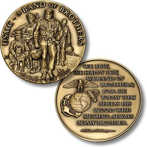 Band of Brothers - Marine Corps Coin Mil-Mall.com