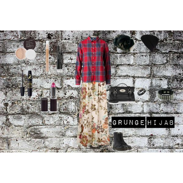 """""""Grunge Hijab"""" by fabsmusician on Polyvore"""