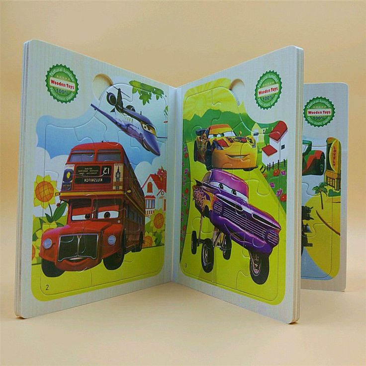 New Book - Kids Wooden Puzzle Book toys/preschool education Cartoon animals, little bear puzzles toy toys for children GREAT DEAL!!  $11.99!!  PUZZLE BOOKS!! SUMMER SAVINGS!! www.Dealz360bargains.com