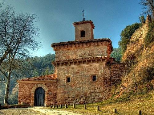 Monasterio de Suso. La Rioja, en España. Sisi estuve cerca.. muchos olivos... muchas aceitunas.. demasiado jamón crudo. Genial!
