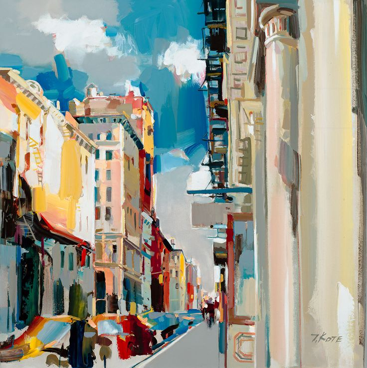 151 best images about josef kote on pinterest warm cold for Mural on broome street