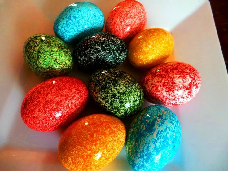 Oua  vopsite de Pasti ( metoda orezului). How to dye Easter eggs