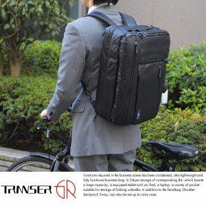 TRANSER 3wayビジネスバッグ メンズ 軽量 リュッ...|メンズバッグ専門店 T-Style【ポンパレモール】