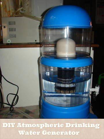 DIY-atmosférica, del agua potable-generador
