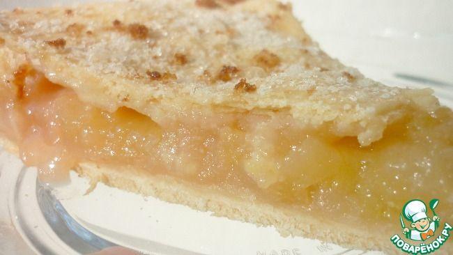 Американский яблочный пирог ингредиенты