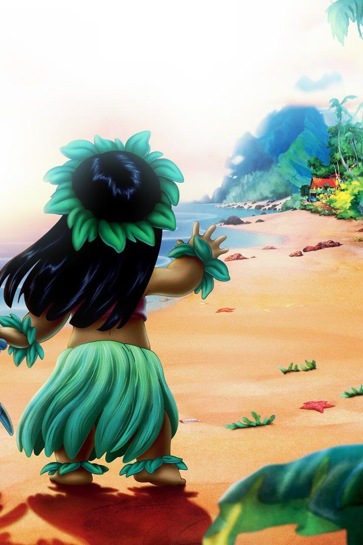 Lilo And Stitch Lilo S Half Full Size By Giulia Jill Best Friend Wallpaper Friends Wallpaper Lilo And Stitch