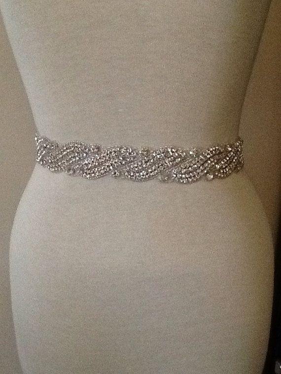 Hey, I found this really awesome Etsy listing at https://www.etsy.com/listing/164238000/bridal-belt-wedding-belt-bridal-sash
