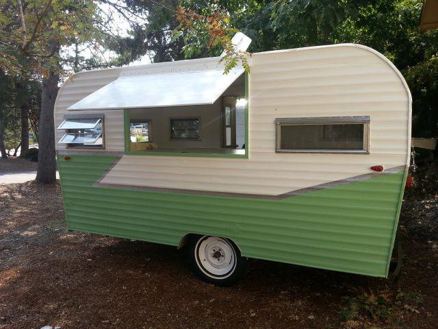 "1970 ROADRUNNER -Customized Concession Trailer - ""Food Truck"" | vintage camper - tiny caravan <O>"