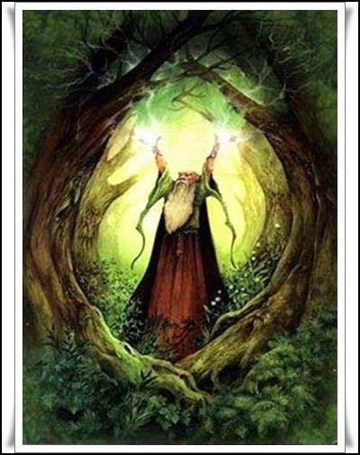 Las Revelaciones del Tarot: Los Druidas en La Mitologia Celta -