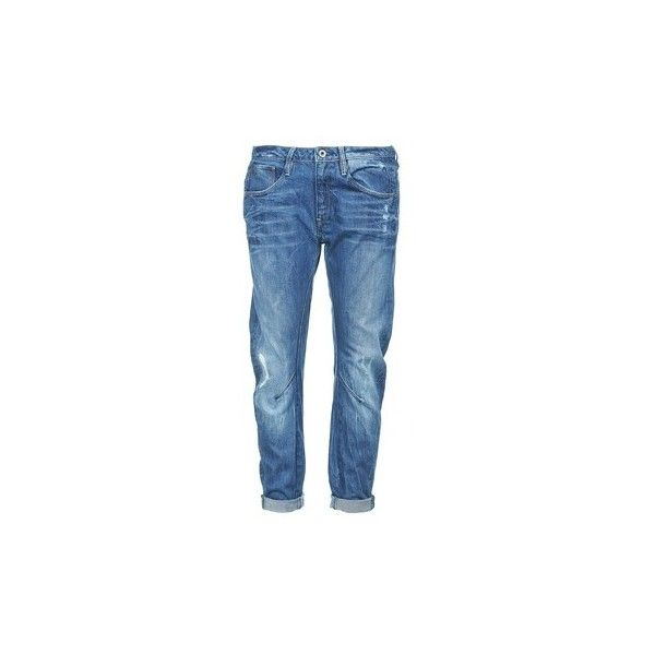 G-Star Raw ARC 3D LOW BOYFRIEND Jeans ($130) ❤ liked on Polyvore featuring jeans, women, g-star raw, g star raw jeans, blue jeans, low jeans and boyfriend fit jeans
