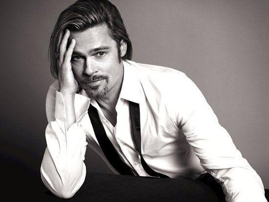 Brad Pitt for Chanel Nº 5