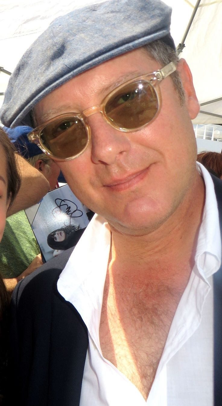 This is a fairly recent shot of James Spader, but I wanted to start my Spader sequence this way because I think he's much more respected and appreciated as an actor now, in his early 50's, than he ever was as a gorgeous, hunky bad boy. - Ronni