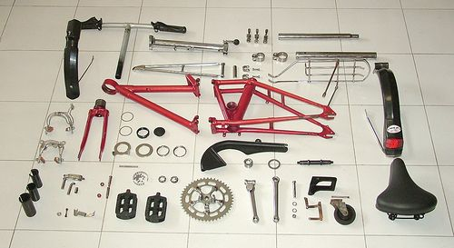 Dahon classic Exploded | Flickr - Photo Sharing!