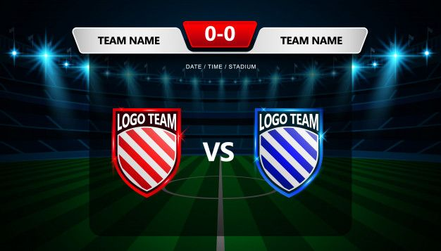 Football Scoreboard Broadcast Graphic Template Esportes