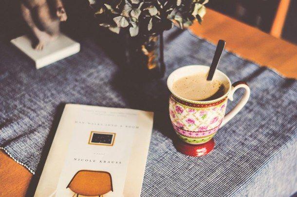 наркоман, удивительно, книга, кофе, хипстер, фотография, читание, расслабляться, Tumblr, вкусно