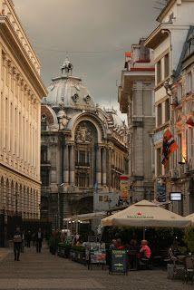 Bucharest Old City Center