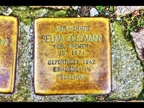 Selma Goldmann • Marientorstraße 10 • Stolperstein in Osterode am Harz ...