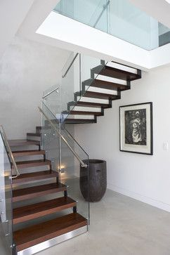 U-shape Stairs Design Ideas, Pictures, Remodel, and Decor - page 4