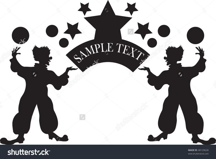 Image Of Clowns In Vector Format - 48120628 : Shutterstock