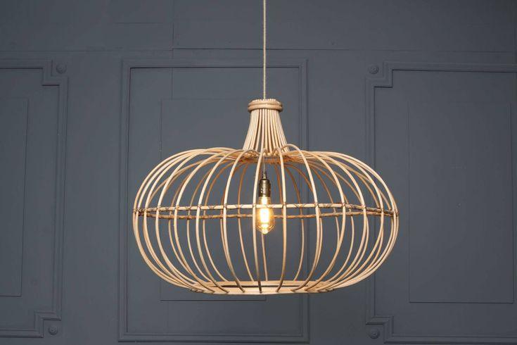 SKIROS wood rattan boho eclectic pendant basket wicker natural pendant light by LightCookie on Etsy https://www.etsy.com/listing/549924852/skiros-wood-rattan-boho-eclectic-pendant