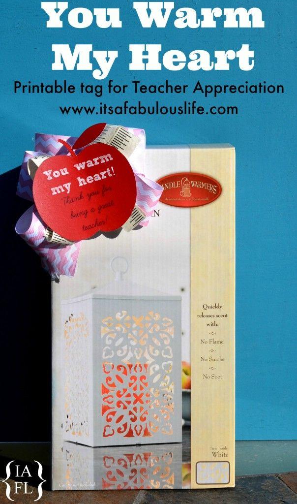 Teacher Appreciation Gift Idea: Candles & Candle Warmers ...