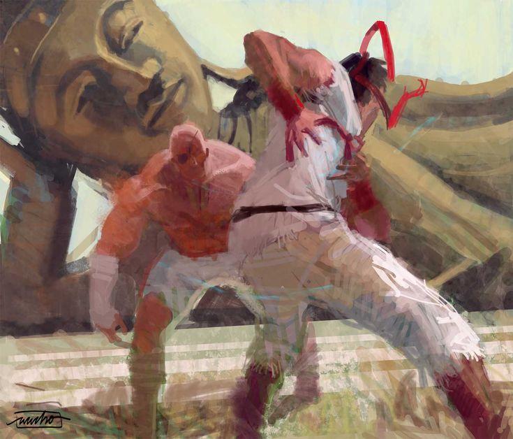 #Ryu vs #Sagat #StreetFighter