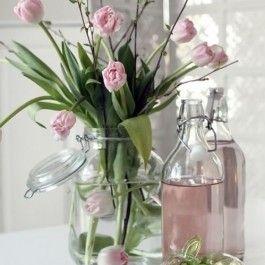 Selecionamos ideia de lindos arranjos florais para celebrar a Páscoa em alto estilo. #primaveragarden #flores #gardencenter #arranjos #decoracao #pascoa