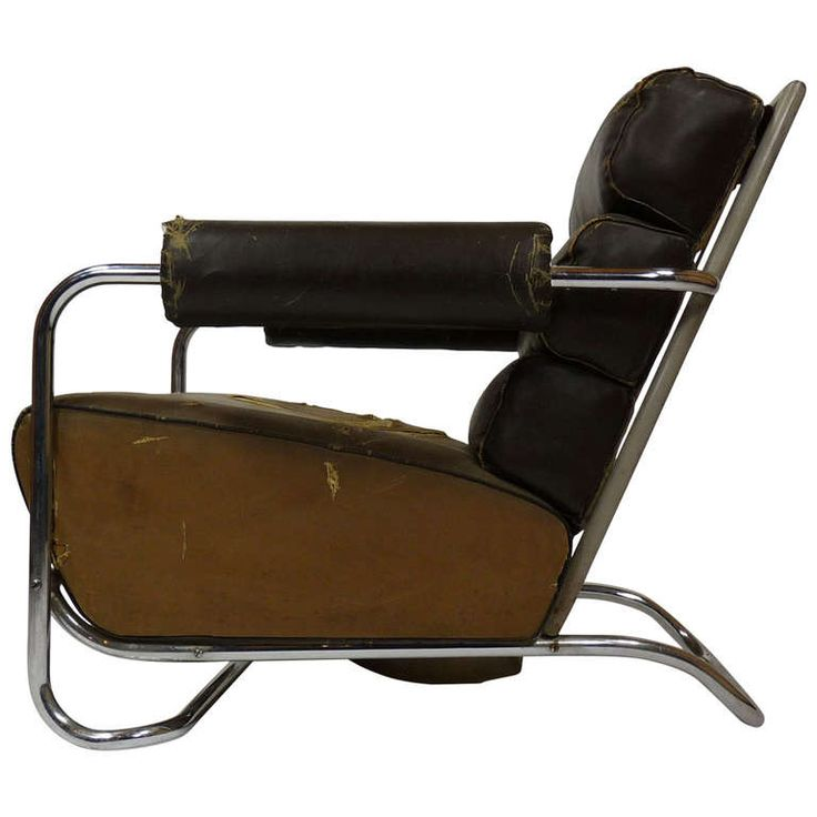 Elegant 1stdibs.com | Rare Lounge Chair By Gilbert Rohde