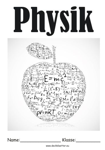 Deckblatt Physik                                                                                                                                                     Mehr