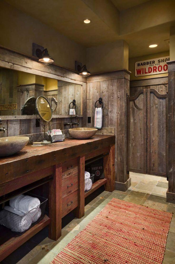 187 best rustic bath images on pinterest room bathroom ideas