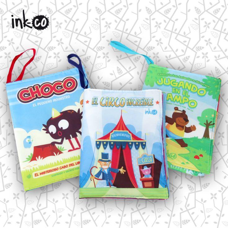Libros de Tela www.ink-co.com.ar