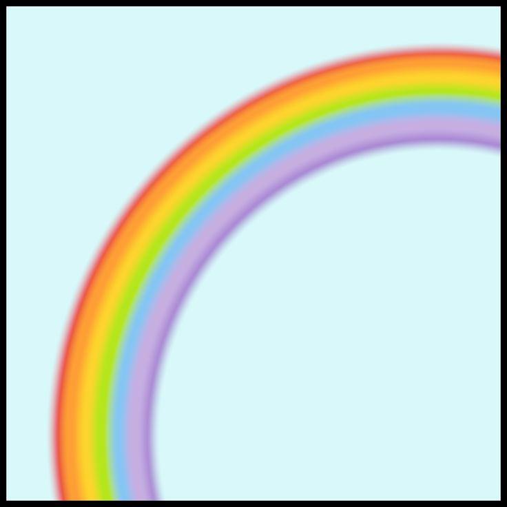 Weerkaartjes - regenboog