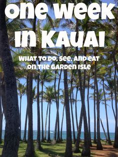 What to do, see and eat during a week in Kauai