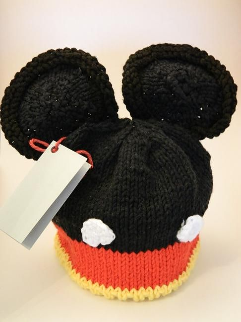 Free Knitting Pattern for Mouse Ears Hat