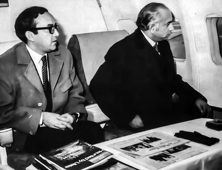 Z A Bhutto in acute tension -Ankara, January 1972  Barely a month after taking over, Mr Bhutto boarded the plane at Ankara after completing his state visit to Turkey and was informed of orders from Islamabad not to proceed. Meanwhile, the Turkish President and his team stood in the freezing cold. both parties were unaware of the reason for the delay. Bhutto was convinced that in his absence the Army had taken over.